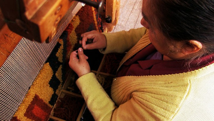 #52 Handmade rugs in Chilean Patagonia